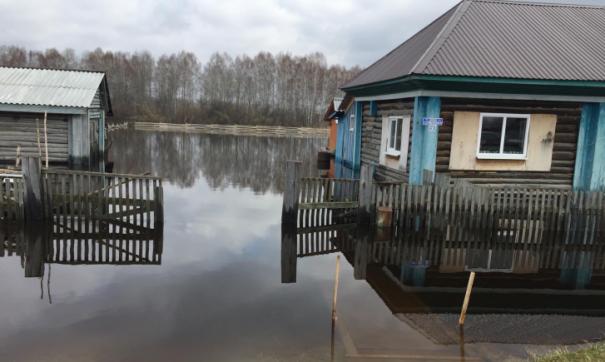 Затоплены придомовые территории. Необходимости в срочной эвакуации людей нет