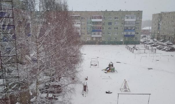 Пользователи соцсетей делятся фотографиями внезапно выпавшего снега