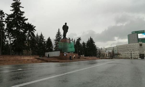 Ремонт памятника Ленину обошелся городу в 14 млн рублей