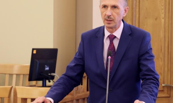 Министр Владимир Попрядухин
