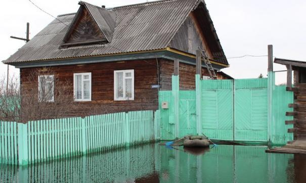 Паводок в Называевском районе