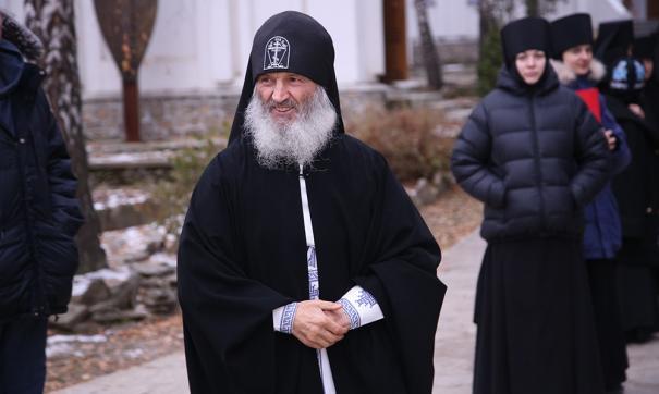 Епархия заверила, что не согласна с позицией схиигумена