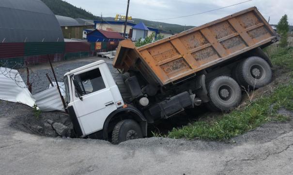 В Сатке погиб водитель