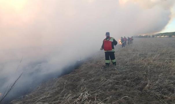 Пожар в Югре