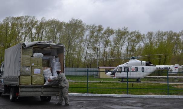 Также средства защты получили курганские медики и полицейские