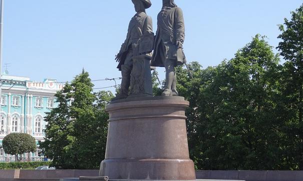 УПРАВИС лишили авторских прав на памятник Татищеву и де Геннину