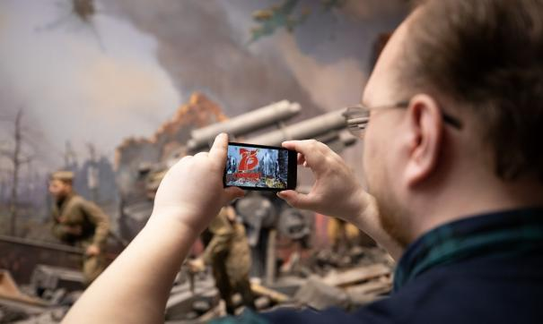 В небе над российскими городами будут спроецированы фотографии военных лет