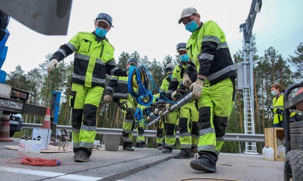На дорогах Свердловской области устанавливают автоматический весовой контроль