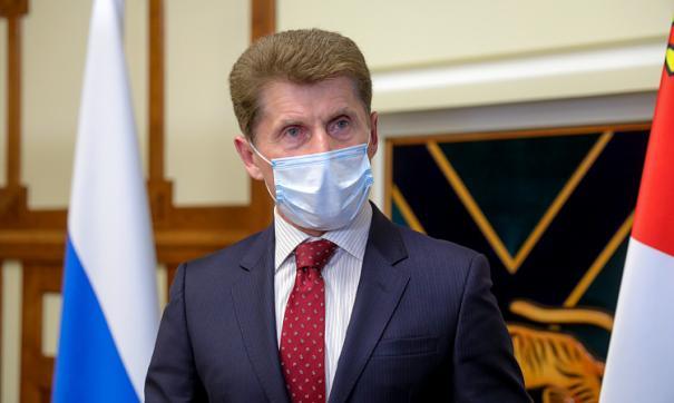 Олег Кожемяко рассказал, когда в Приморье закончится режим самоизоляции