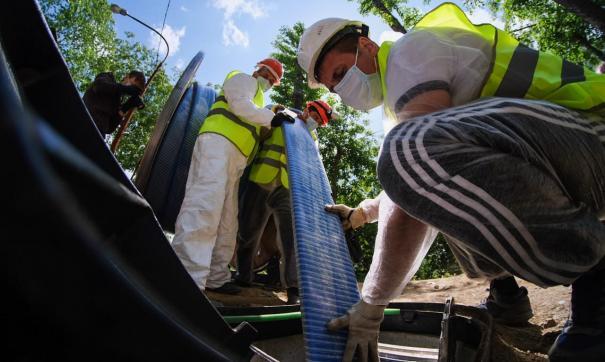 В Екатеринбурге начали ремонтировать коммунальные сети