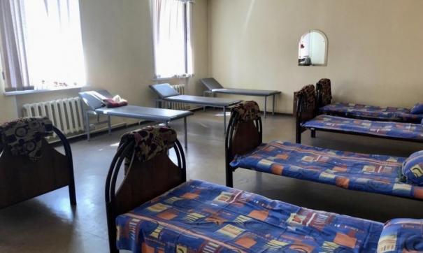 В здании Центральной подстанции скорой помощи в Новосибирске достаточно мест отдыха