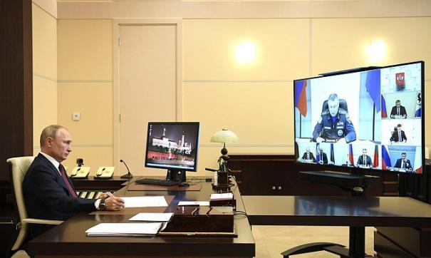 Глава государства несколько раз упомянул Приангарье и высказал неудовольствие