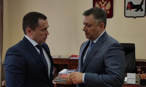 Кандидатуру Дмитрия Бердникова внес врио главы региона Игорь Кобзев