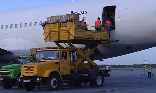В Югру прибыл первый самолет с СИЗ