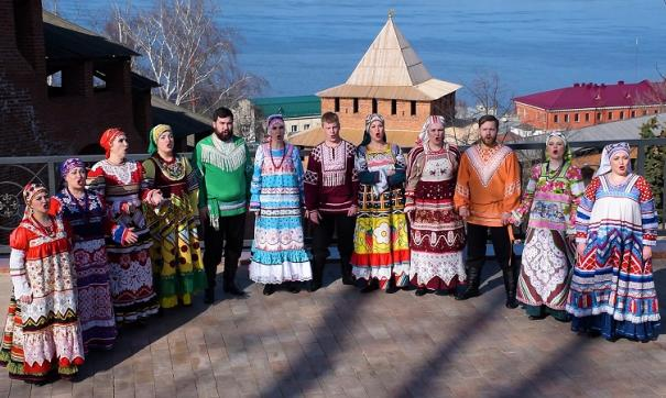 Съемки клипа проходили в знаковых местах Нижнего Новгорода