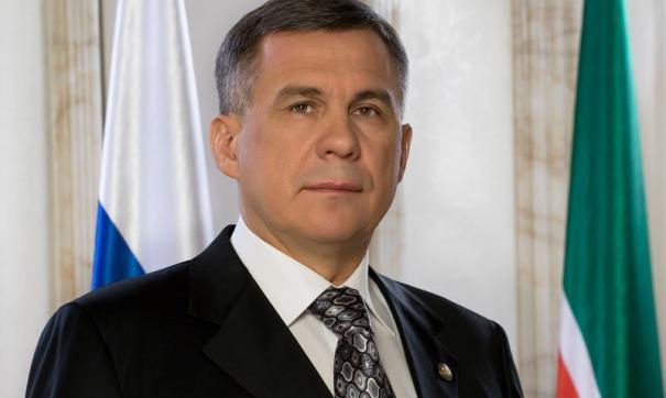 Владимир Путин поддержал предложение Рустама Минниханова об участии в выборах