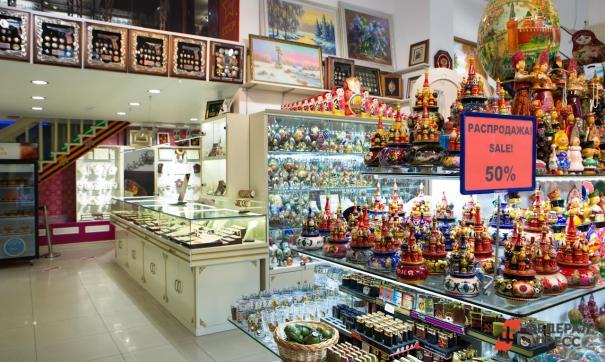 Спрос на сувениры восстановится еще не скоро