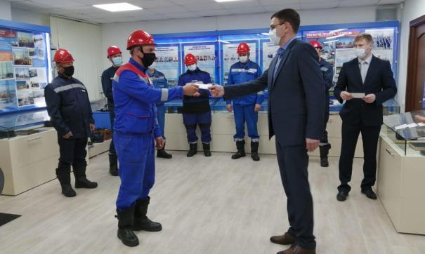 СУЭНКО наградила сотрудников, которые восстановили электросети после урагана