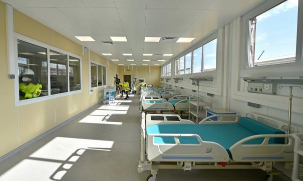Больница для больных коронавирусом