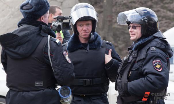 Полиция пострадала на митинге