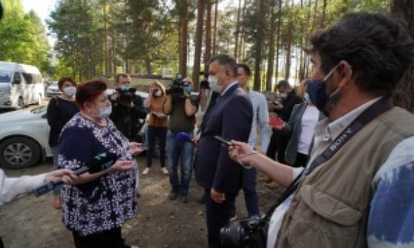 Игорь Кобзев посетил Саянск