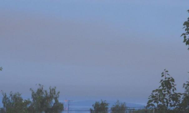 Над Тагилом скапливаются ночные выбросы заводов