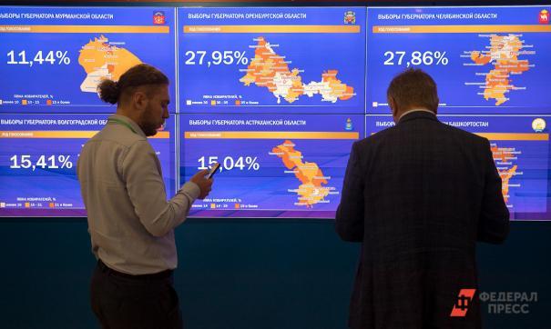 Выборы губернаторов Ростовской области и Краснодарского края