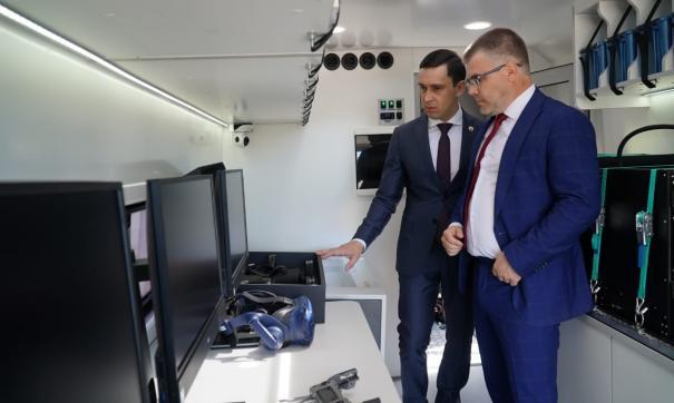 В Кировскую область в рамках нацпроекта «Образование» поступил мобильный технопарк «Кванториум»