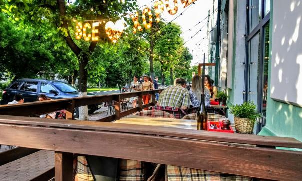 15 июня в Поволжском регионе открылись летние веранды кафе и ресторанов