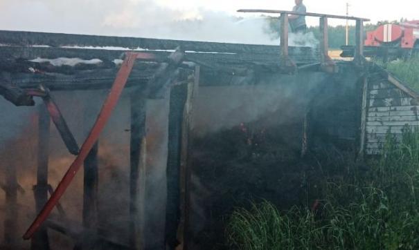 В Курганской области на месте сгоревшего моста появится временная переправа