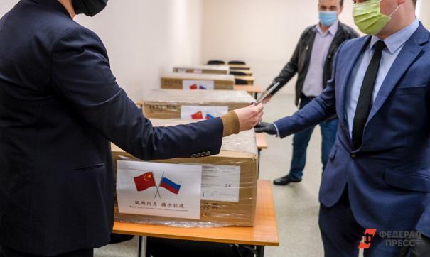 На север Свердловской области привезли средства защиты на участки для голосования