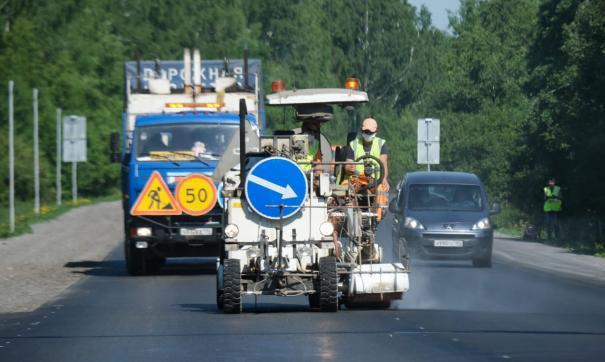 В Свердловской области нанесли разметку на треть региональных дорог