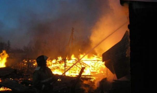 В Томской области во время пожара погибли два человека