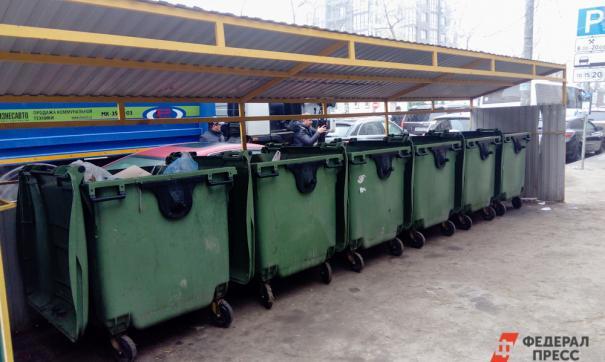 В Томске установят дизайнерские площадки для мусорок