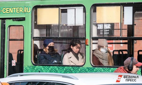 В Кызыле приостановили движение общественного транспорта