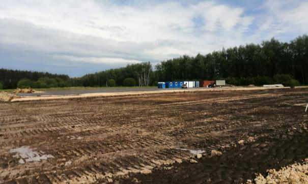 Подготовительные работы по строительству автодороги уже идут