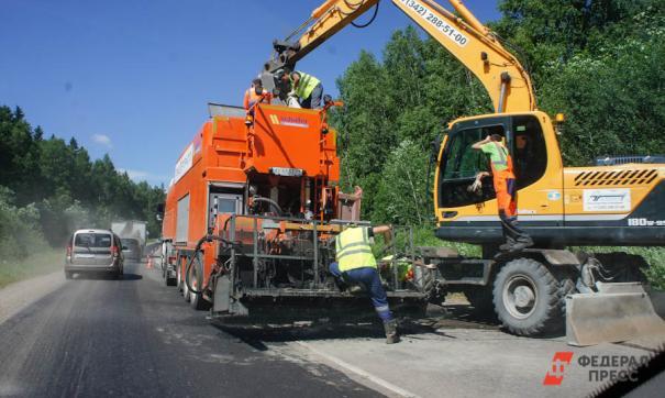 В Кировской области дороги ремонтируют в рамках нацпроекта