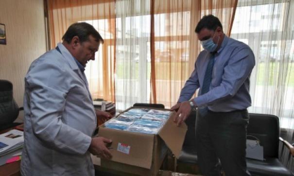 Мэрия Иркутска передала в больницы медицинские маски из Улан-Батора