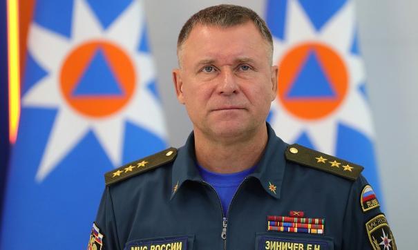 Глава МЧС России Евгений Зиничев вылетел на место аварии в Норильске