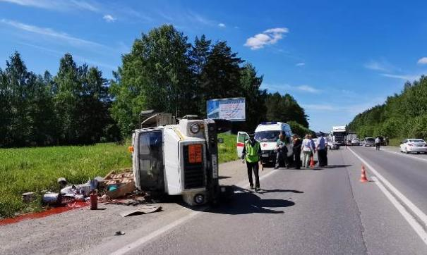 В Свердловской области выясняют обстоятельства столкновения четырех автомобилей