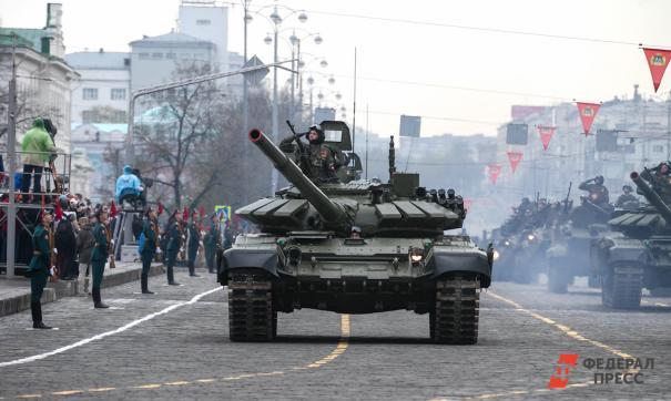 В Екатеринбурге пройдет вторая репетиция парада Победы