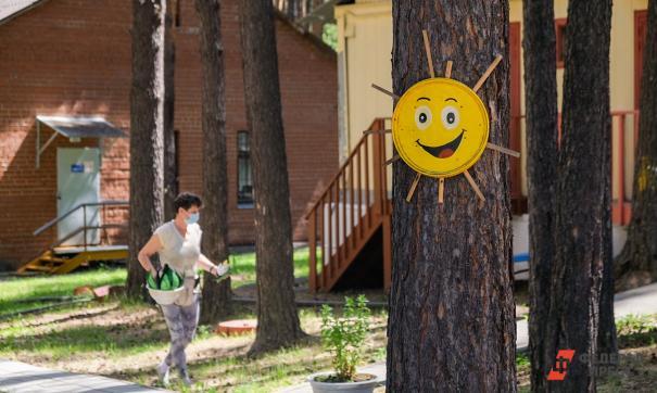 Загородные лагеря Екатеринбурга начнут свою работу после второго июля