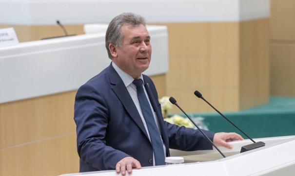 Председатель Алтайского краевого законодательного собрания Александр Романенко