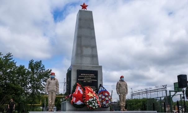 На обелиск попали почти семьдесят фамилий ветеранов