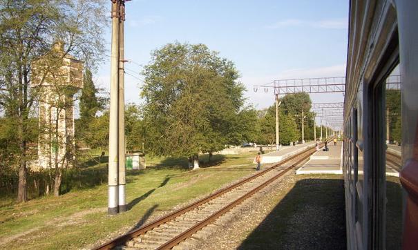 Инцидент произошел на станции Червленная-Узловая