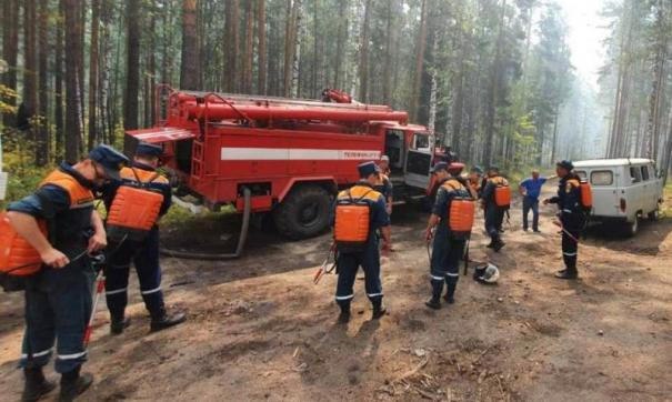 Вокруг Тургояка горят леса