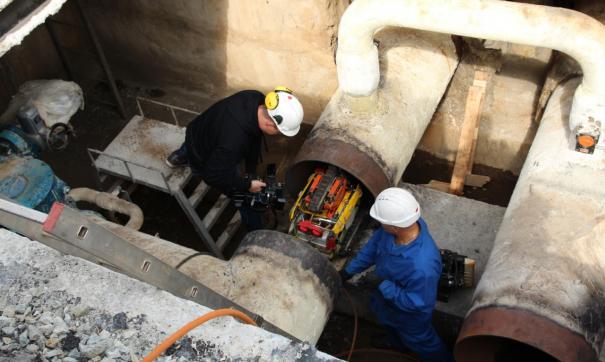Искать коррозию и повреждения на теплосетях Челябинска будет робот