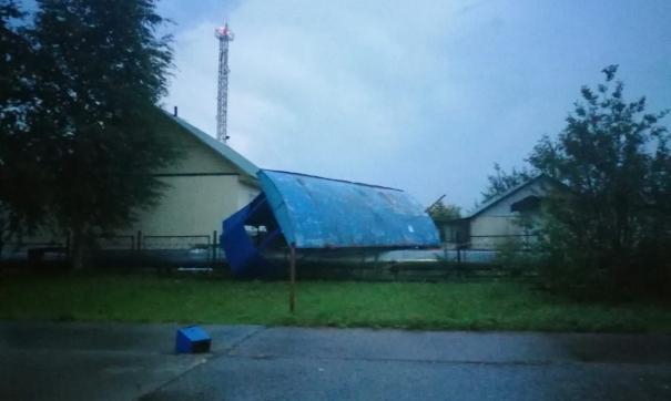 В Нижневартовском районе пронесся ураган