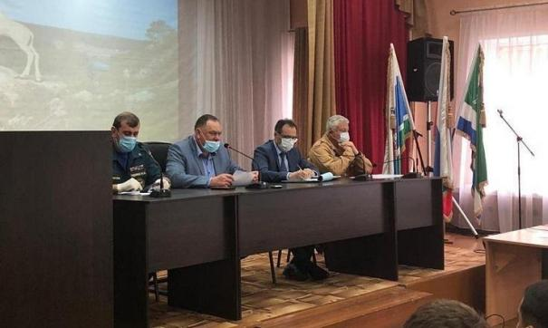 Андрей Руцинский возглавил заседание оперативного штаба Нижнесергинского района