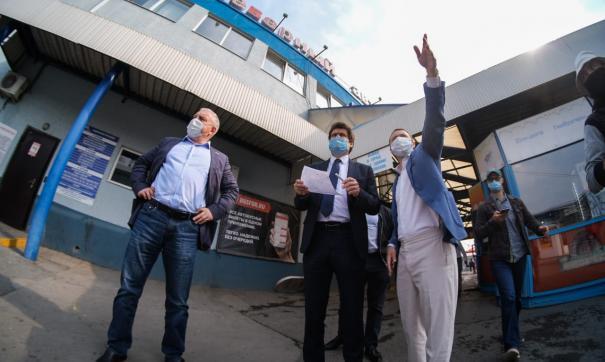 В Екатеринбурге реконструкция Северного автовокзала завершится не раньше 2023 года